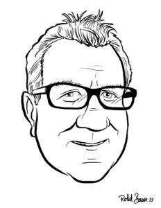 BA caricature